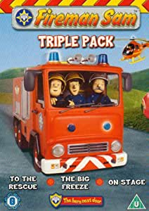 Fireman Sam: To The Rescue/Big Freeze/On Stage [DVD]