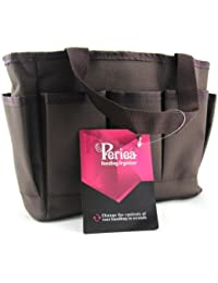 Periea - Organiseur de sac à main, 12 Compartiments - Nadia (Marron)