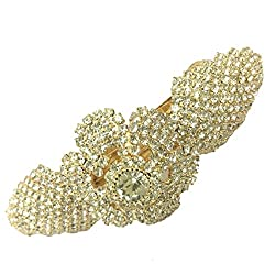 Accessher Bridals Collection studded back clip hair accessories