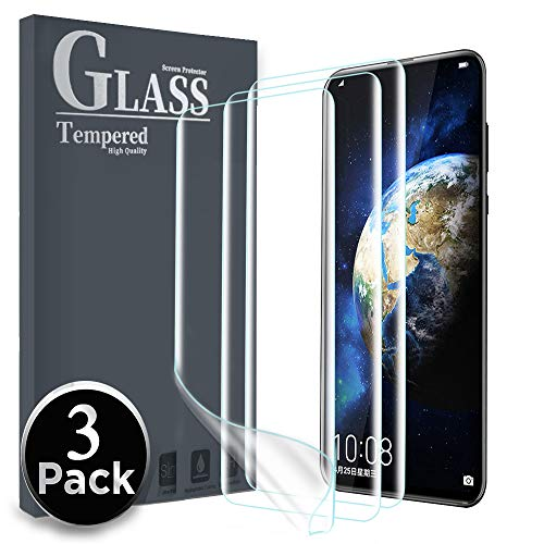 Ferilinso [3 Pack] Honor Magic 2 Ersatz-Displayschutzfolie High Sensitive Full Coverage 3D PET Flexible TPU-Folie