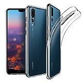 CoverKingz Huawei P20 Pro Handyhülle Soft Case Ultra Slim 0,8mm Dünn Design Schutzhülle aus TPU Crystal Clear Cover Handytasche Klar Durchsichtige Flexible Silikon Hülle Transparent