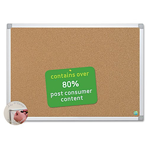 BVCCA271790 - Bi-silque Earth Cork Board by MasterVision (Mastervision Cork Board)