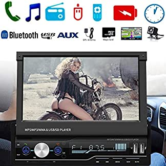 Sue-Supply-7-HD-Auto-MP5-Touchscreen-GPS-Sat-NAV-Bluetooth-Stereo-Retractable-Radio-Kamera-Auto-MP5-Bluetooth-Player