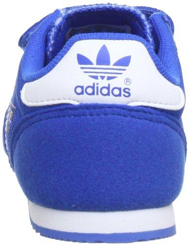 adidas Dragon CF G95081 Unisex-Kinder Sneaker Blau (bluebird / running white ftw / running white ftw)