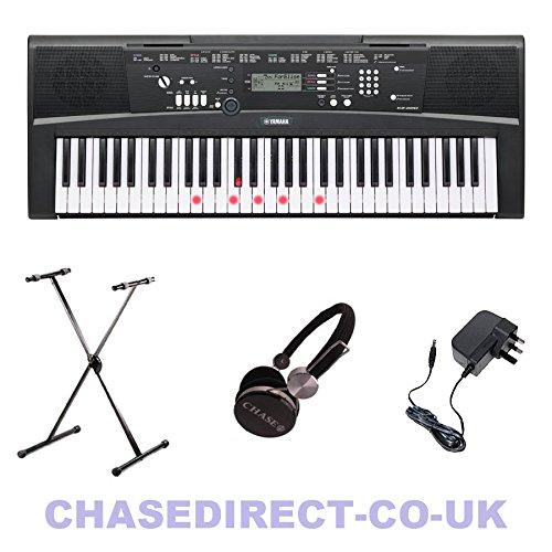yamaha-ez-220-digital-keyboard-with-lighting-keys-x-stand-bundle-by-chase