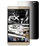 atFolix Blickschutzfilter für Huawei MediaPad X2 Blickschutzfolie, 4-Wege Sichtschutz FX Schutzfolie