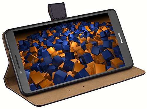 mumbi Ledertasche im Bookstyle für Huawei Ascend Mate 7 Tasche