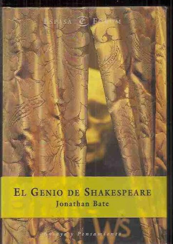 El genio de Shakespeare (ESPASA FORUM) por Jonathan Bate