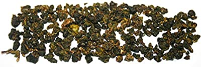 TEA SOUL Qilai High Mountain Thé Oolong en Feuilles de Haute Qualité de Taiwan 50 g - Lot de 2