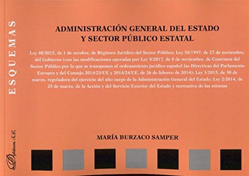 Administración General del Estado y sector público estatal. Esquemas