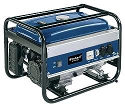Einhell Benzin Stromerzeuger BT-PG 2000/2 (2000 W Dauerleistung, max. Leistung 4 kW, 196 cm³ Hubraum, 13 l Tank, 2 x 230 V Steckdose)