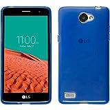 TBOC® Blau Gel TPU Hülle für LG Bello ll (Bello 2)