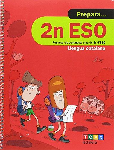 Prepara 2n ESO Llengua catalana (Quaderns estiu) - 9788441230361