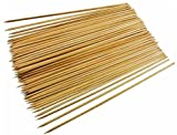 #6: BeeMall Bamboo Swewers 200 pcs With Toothpicks