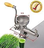 Presse à froid de qualité supérieure en acier inoxydable manuel pressoir d'herbe de blé sain,machine centrifugeuse extracteur de jus d'herbe de blé