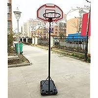 Genérico ketbal Hoop Backboard M Adj Basketball Net Kboard Stan Stand Set se 1,9 – 2,5 m ajustable portátil Set jóvenes niños jóvenes niños