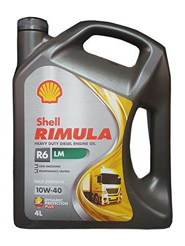 Shell Rimula R6-LM 10W-40 Motoröl, 4 Litre