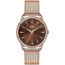 Henry London quarzwerk Damen-Armbanduhr HL39-SM-0124 (Generalüberholt)