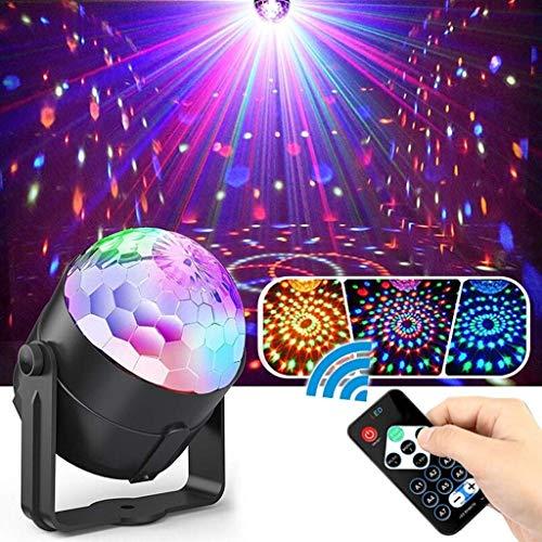 CDD Disco Licht Sound Control Rotierenden Disco Ball Party Lichter 11 Modi Für Weihnachten Hause KTV LED Bühnenlicht Weihnachten Hochzeit Zeigen Scheinwerfer