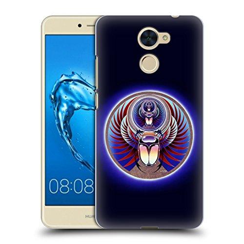 Head Case Designs Offizielle Journey Captured Logo 2 Ruckseite Hülle für Huawei Y7 Prime/Y7 (2017) (Primos-logo-cap)