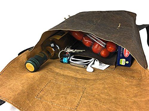 8c6959eb24da6 bundi Swiss® SHOPPERBACKPACK STACY Vintage Handtasche Rucksack 2 in ...