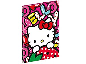 Hello Kitty- Carpetas, (Montichelvo MC-53868)