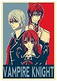 """Poster Vampire Knight """"Propaganda"""" Characters - Formato A3 (42x30 cm)"""
