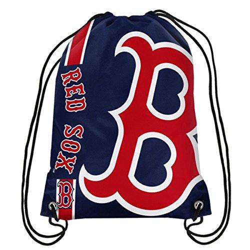 Forever Collectibles Offizieller Major League Baseball-Fan-Shop Authentischer Kordelzug MLB Rückensack Gym Tailgating School, Boston Red Sox -