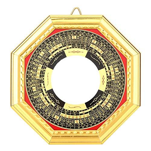 Pssopp Specchio Bagua, Feng Shui Cinese Tradizionale Specchio concavo Convesso Specchio Magico amuleto esorcismo Protezione Fortuna Artigianato d\'Arte taoismo Decorazione