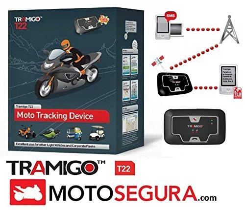 Localizador GPS Antirrobo T22 Moto y Vehículo Ligero