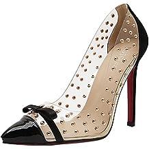 Minetom - Scarpe da donna eleganti, tacchi alti, a punta