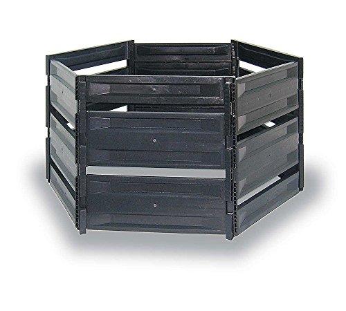 myGardenlust Komposter - Composter für Garten-Abfälle - Schnellkomposter aus Kunststoff - Kompostierer stabil und hochwertig - Thermokomposter als...