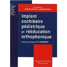 Implant cochléaire pédiatrique et rééducation orthophonique : Comment adapter les pratiques ?