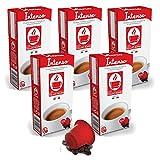 Bonini Kaffeekapseln, Intenso - Nespresso kompatibel - 5er-Pack (5 x 10 Kapseln)