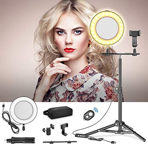 20cm Luz Anillo LED Espejo Maquillaje Selfie Transmisión