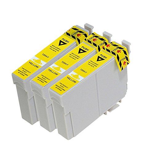 vivink 3PK rigenerate cartucce d' inchiostro per Epson 29X L T2994giallo compatibile con Epson Expression Home XP-235XP-332XP-335xp-442con chip