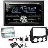 Pioneer FH-X730BT Bluetooth USB CD Aux MP3 Autoradio Einbauset für Mazda MX-5 NC FL