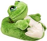 gibra Tierhausschuhe Frosch Hausschuhe, Gr. 36-37
