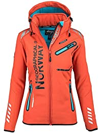 Geographical Norway Lady Chaqueta funcional al aire libre para mujer  Softshell Jacket 9ab2251f8226