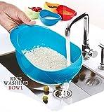 #5: Plantex Plastic Grains and Vegetables Washing Bowl Strainer (Multicolour)