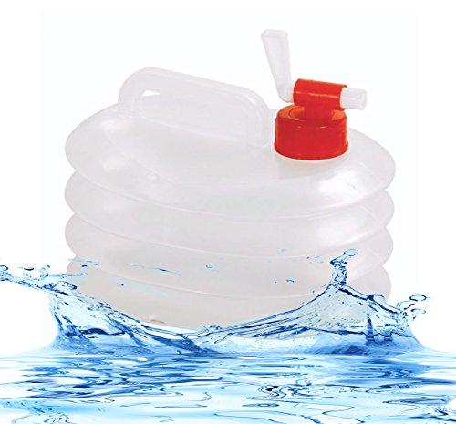 Preisvergleich Produktbild 5 Liter Langlebig Travel klappbar Water Carrier aywav®
