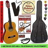 Pack Guitare Classique 1/2 Pour Enfant (6-9ans) Avec 6 Accessoires (nature)