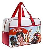 Meliconi Coca Cola Vintage Borsa Termica Lunch Bag 24 Lt, 600d PU, Fantasia, 45.0x18.0x31.0 cm
