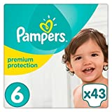 Pampers Premium Protection Größe 6 Extra Large 13+kg Jumbopack 43 Windeln