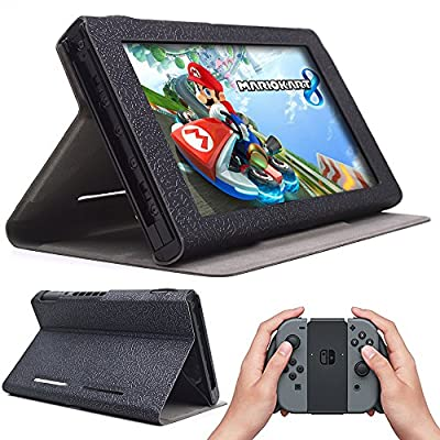 Nintendo Switch Case, Protective Cover (2017) with Stand Function (DRN case) from iitrust