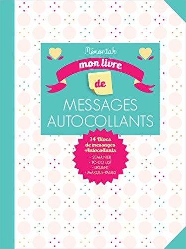 Mon livre de messages autocollants pour m'organiser Mémoniak