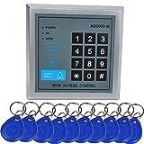 INHDBOX RFID Zugangskontrolle +10 Clips Türschloss Türöffner Digitale Codeschloss System