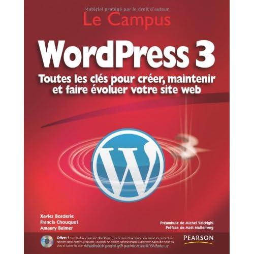 WordPress 3: Toutes les clés pour créer, maintenir et faire évoluer votre site web