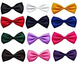#10: Sorella'z Dog Puppy Cat PET Lovely Neck Bowties Combo of Twelve (will send 12 different available colors from stock)