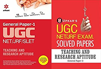 UGC NET/JRF/SLET General Paper-1 Teaching & Research Aptitude Arihant with Solved paper Upkar